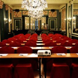 banket zaal schoolstijl, banqueting room school style