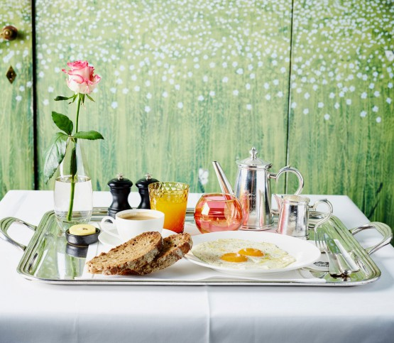 room service ontbijt, room service breakfast