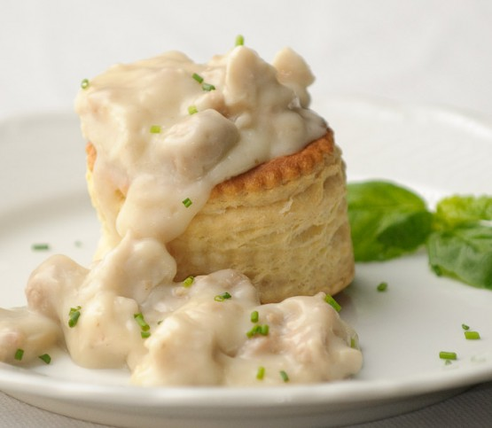 vol-au-vent, chicken stew
