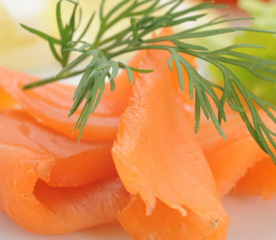 gerookte zalm, smoked salmon