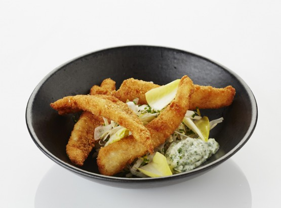 goujonettes, fried fish